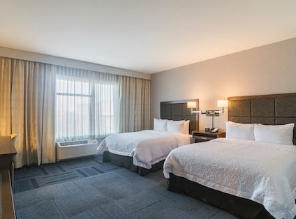 2 Queen Beds Accessible Guest Room
