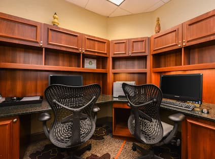 Business Center Computer Printer Workdesk
