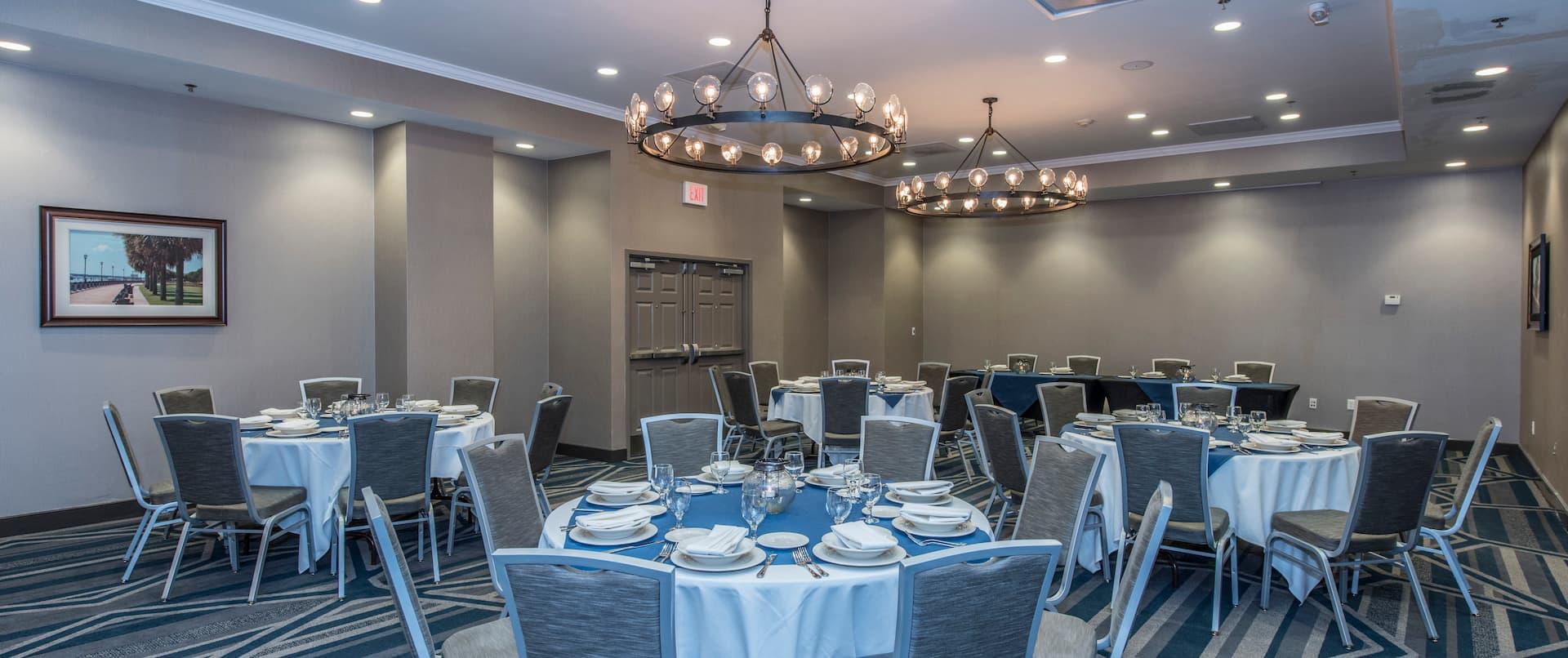 Wilson Ballroom Banquet Set Up