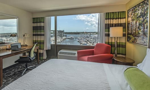 Double Bed Guestroom with Waterfront View