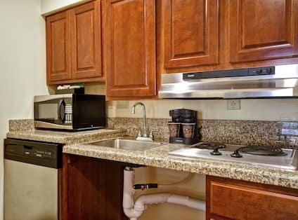 Suite Kitchen View