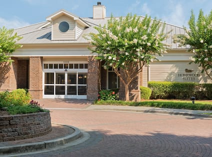 Hotel exterior with entrance