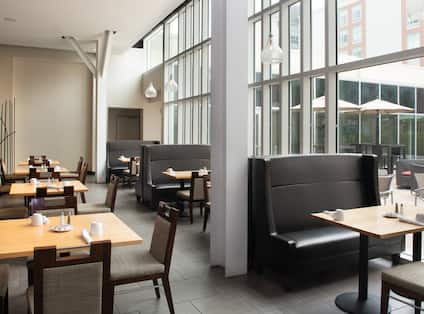 Restaurant Dining Tables and Booth Seating