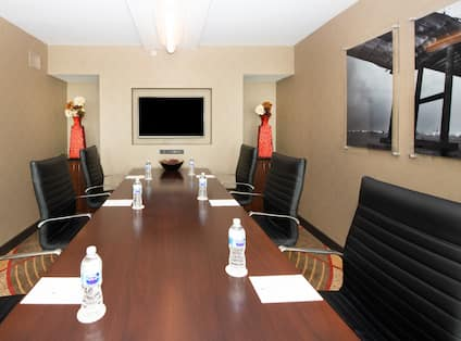 Boardroom Table in Private Meeting Room