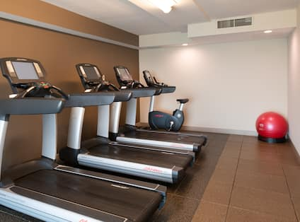 Hotel Fitness Center and Equipment