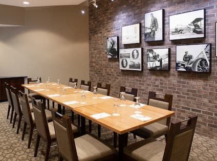 Meeting Room Table with Seating for 12