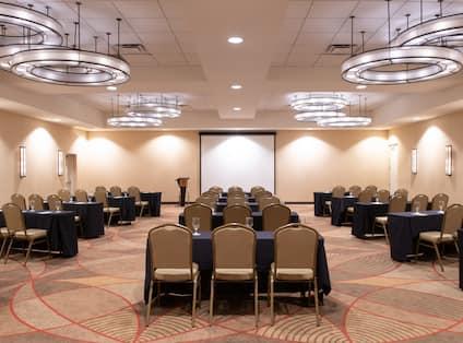 Classroom Setup in Meeting Room