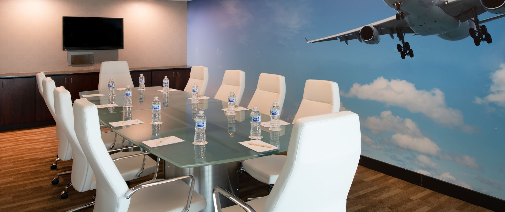 Private Meeting Room with Boardroom Table