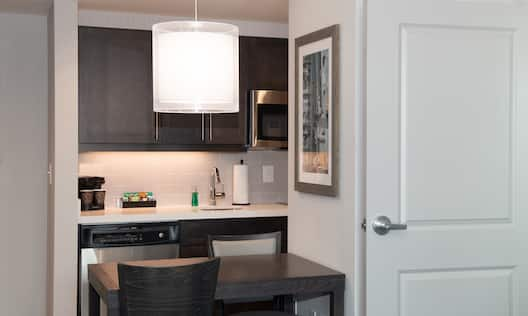 Suite Kitchen and Entrance