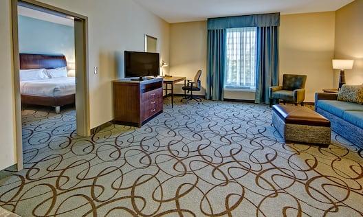Accessible Guestroom Suite TV Cabinet