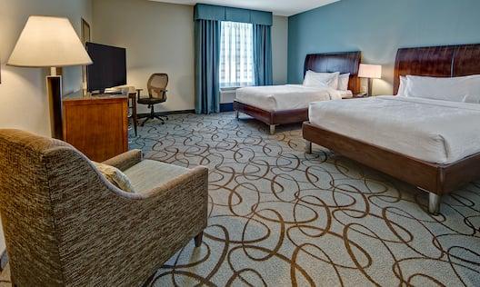 Accessible Queen Beds Guestroom