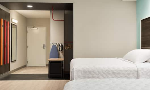 Accessible Double Queen Guest Bedroom