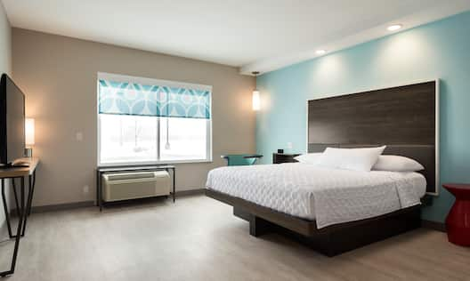 Accessible King Guest Bedroom