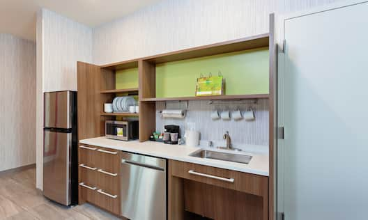 Accessible Wetbar Kitchen Area
