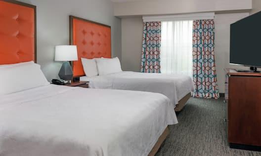 Two Queen Beds in Suite