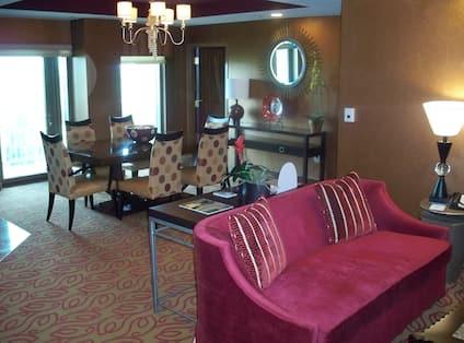 President Suite Living Room