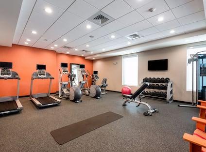 Exercise Equipment in Fitness Center