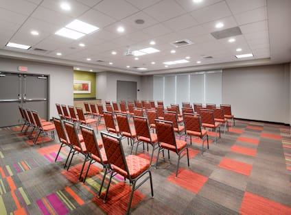 Theater Style Setup in Meeting Room