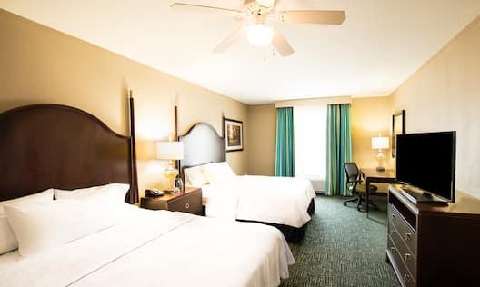 Suite with 2 Queen Beds