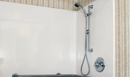 Accessible Guestroom Bathroom with Shower