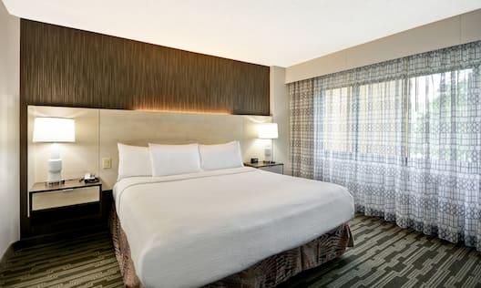 2 Room Parlor Suite Bedroom
