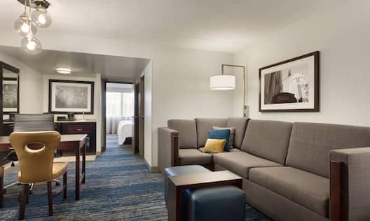 2 Double 1 Bedroom Suite