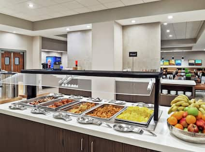 Free Cooked-to-Order Breakfast Buffet