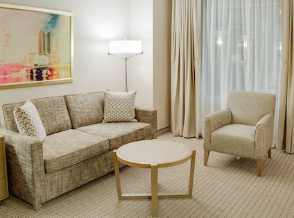 Suite Living Area Seating
