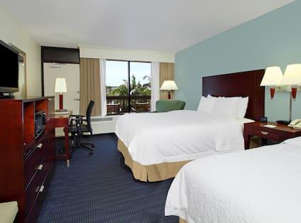 Two Queen Beds Room with Ocean View