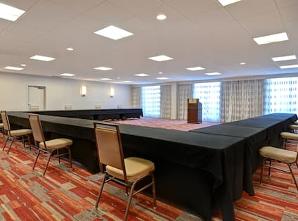 Pikes Peak Meeting Room Setup U Style