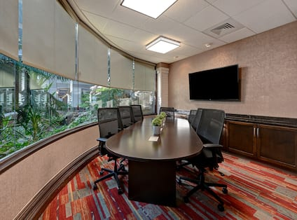 Waterfall Boardroom with HDTV