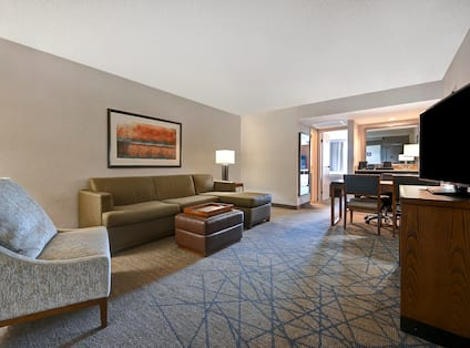 Suite Living Room Area
