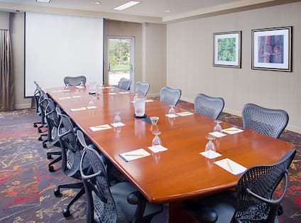 Formal Large Table Conference Room
