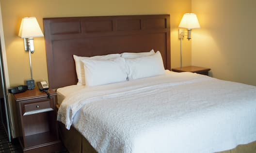 Spacious, comfortable guest room
