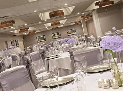 Wedding Tables Angle