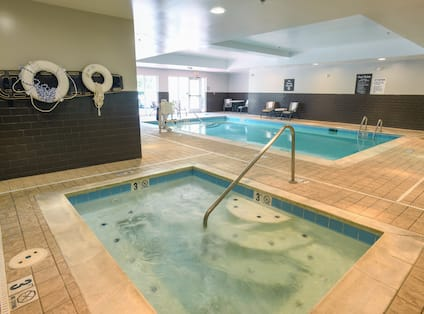 Indoor Pool and Whirlpool