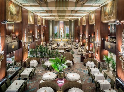 Overview of Restaurant Dining Room