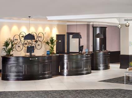 Reception Area Front Desk