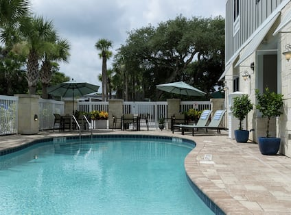 Outdoor Swimming Pool at Daytime