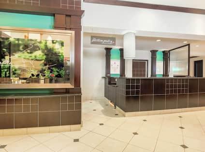 Front Desk in Lobby