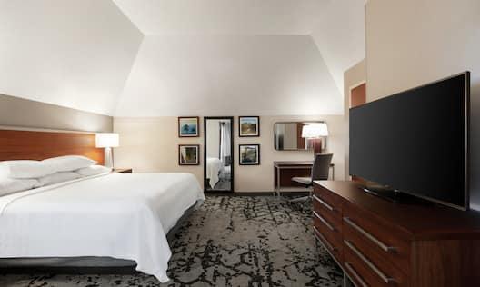 King Bed Suite Guestroom