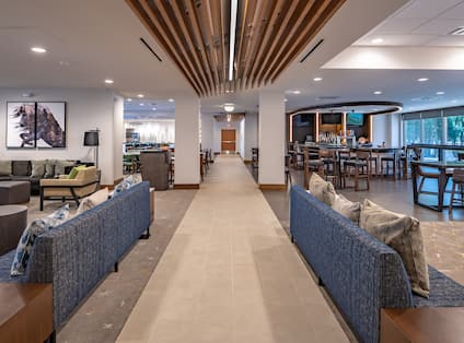 Lounge Seating in Lobby