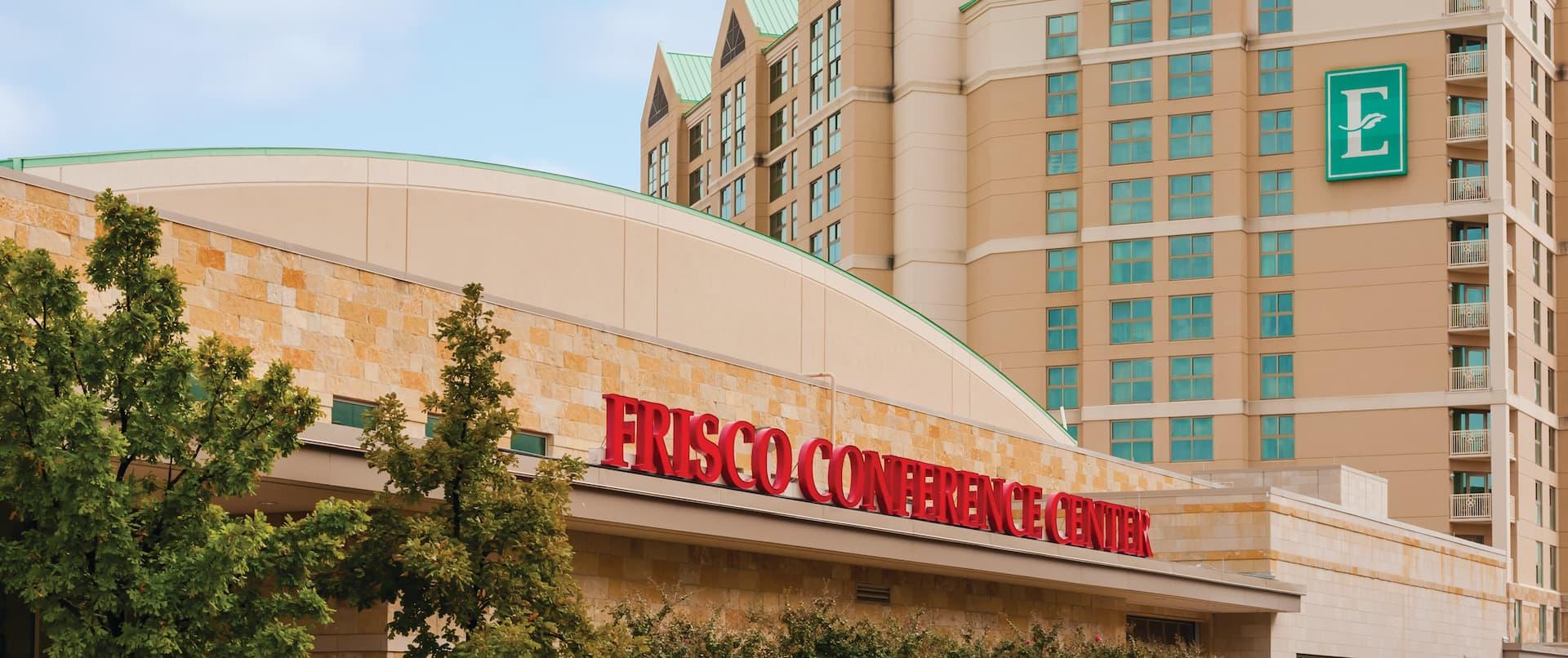 Frisco Convention Center And Hotel Exterior