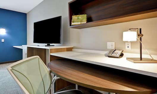 Guestroom Suite with Work Desk and Room Technology
