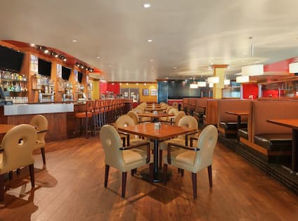 Sports Page Grill Interior