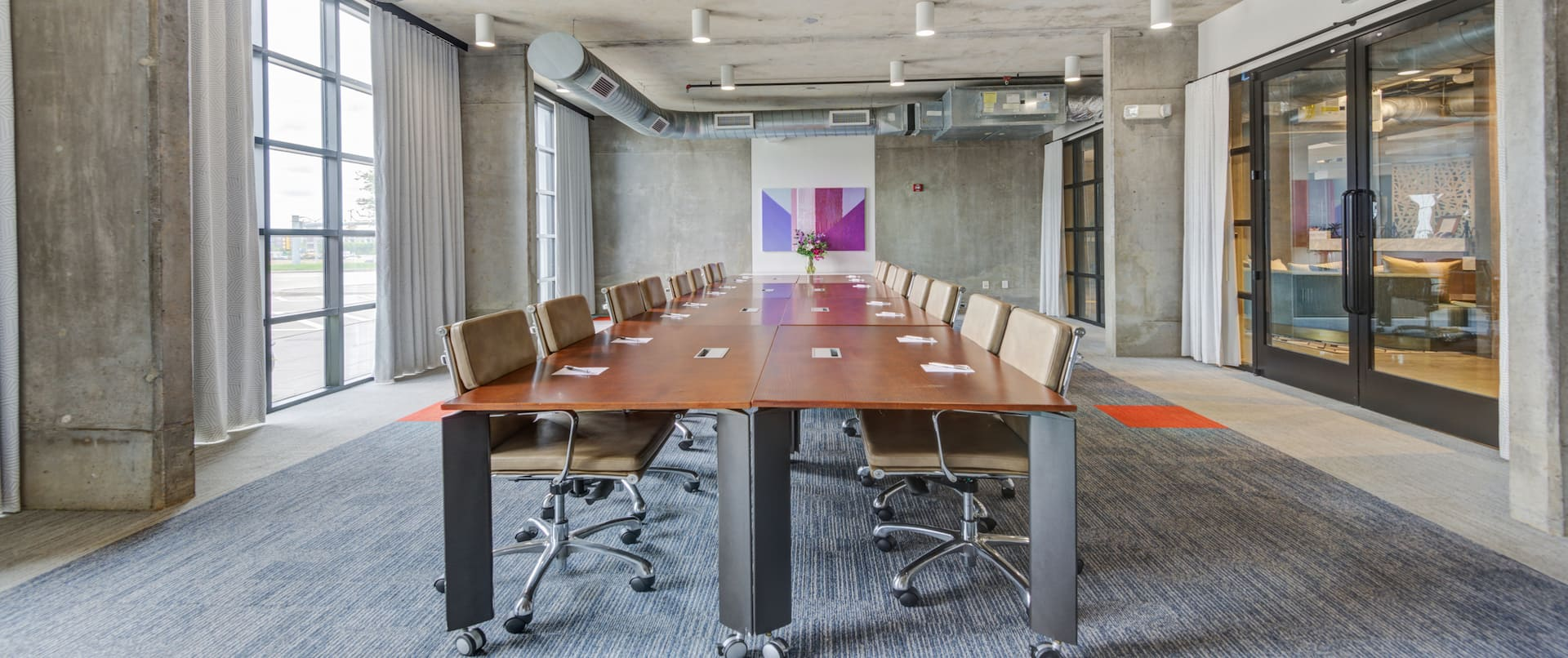 Legacy Boardroom with Large Table