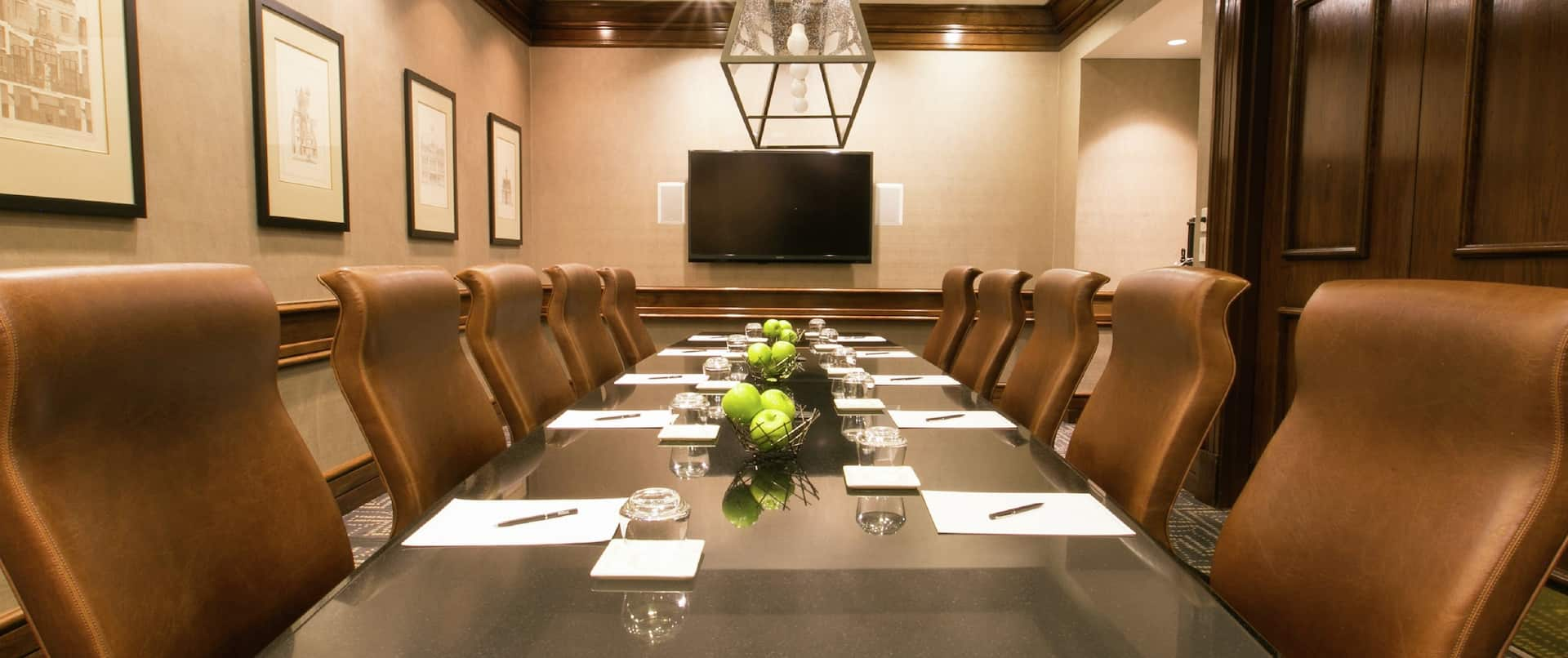 Conference Table and Chairs in Normandy Boardroom