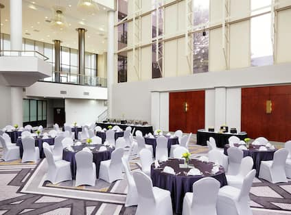 Hotel Meeting Room With Decorative Detail