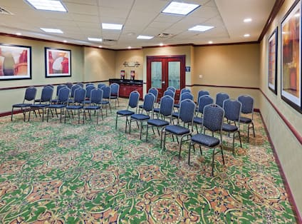 Meeting Room with Conference Setup