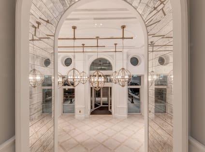 Main Corridor At Entrance To The Hotel